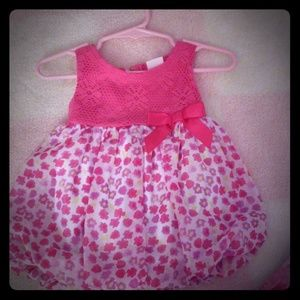 LIKE NEW babygirl cute pink summer dress
